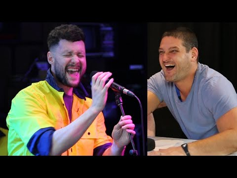 Calum Scott Surprises Fev and Sings In Disguise! I Fifi, Fev and Byron (видео)