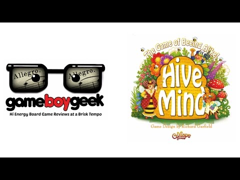 The Game Boy Geek's (Allegro 2-min) Review of Hive Mind