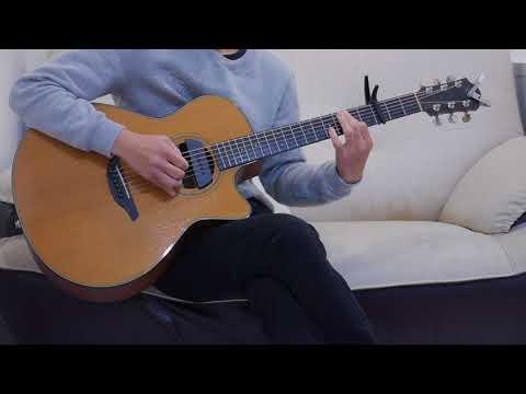 吳汶芳 - 無窮 (acoustic guitar solo)