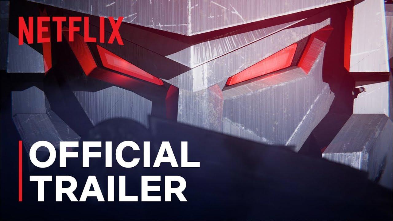 Трейлер аниме-сериала «Трансформеры. Трилогия войны за Кибертрон: Осада»