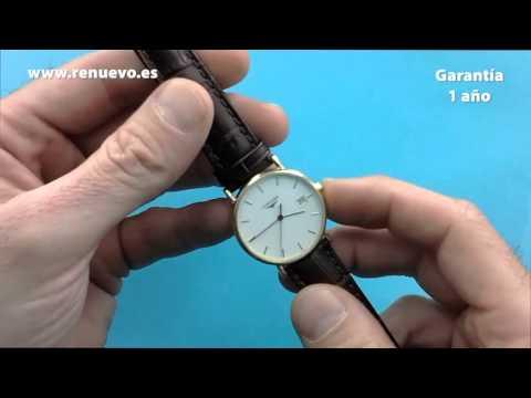 Reloj LONGINES de oro de 18 kilates de segunda mano E220242