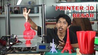 Unboxing 3D Printer Besar - Anet A8 Plus