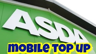 Buy Asda Mobile Top up Online - Voucher Code Delivered to Email