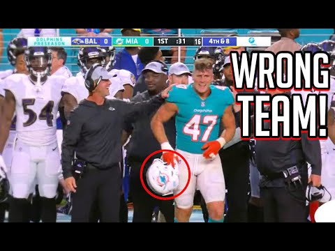 "NFL ""What Team are you on?"" Moments 