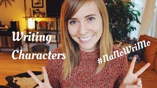 All About Character Development | NaNoWriMo