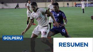 Resumen: Universitario de Deportes vs. César Vallejo (0-2)