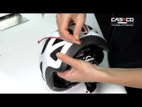 Casco MyStyle Stripe Oransje m/refleks - film på YouTube