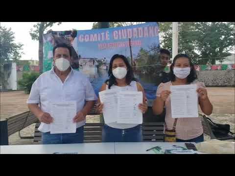Damnificados de Tabasco reúnen firmas para exigir un plan hidráulico que evite inundaciones