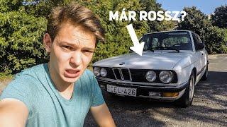 BMW E28 520i - mik a cápa hibái?   Cápa napló #1