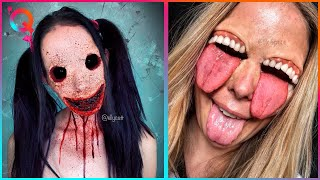 Halloween Makeup Artist Who Are At Another Level ▶ 3