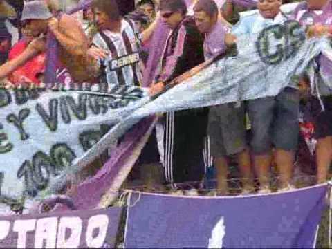 """21/02/09 Villa Dálmine 1 - Berazategui 0"" Barra: La Banda de Campana • Club: Villa Dálmine"