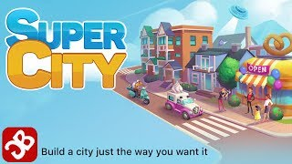 SuperCity: Build a Story - iOS/Android - Gameplay Video by Playkot Limited