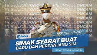 Kasatlantas Polres Sukoharjo Tetap Layani Perpanjangan dan Pembuatan SIM saat New Normal, Simak Yuk!