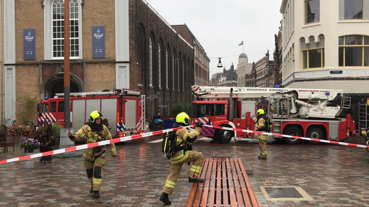 'Grote Brand op de Voorstraat in Dordrecht