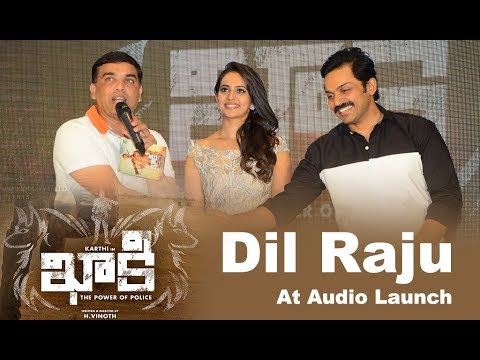 Dil Raju At Khakee Movie Audio Launch Event