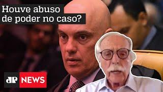 'Alexandre de Moraes tem vergonha de dizer que está usando uma lei da ditadura'