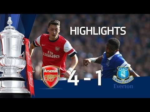 Download ARSENAL VS EVERTON 4-1: Official Goals And Highlights FA Cup Sixth Round HD HD Mp4 3GP Video and MP3