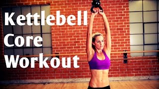 15 Minute Kettlebell Core Workout For Strong Abs by BodyFit By Amy
