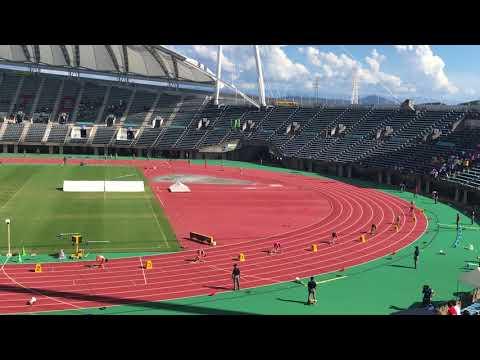 第44回全日本中学校陸上競技選手権大会 男子4×100mリレー 決勝【中学新・大会新】