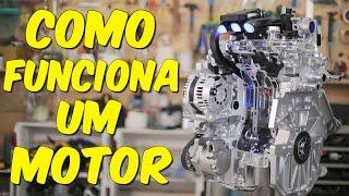 Você sabe como funciona o motor do seu carro?