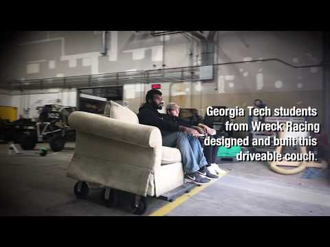 Georgia Tech's Motorized Couch