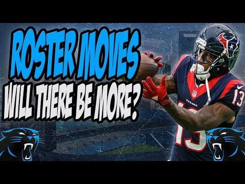 Carolina Panthers Sign Braxton Miller & Promote WR DeAndrew White