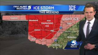 Forecast:  Ice storm is likely