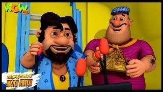 Motu Patlu Aur Shaitani Putla  | Motu Patlu in Hindi | 3D Animation Cartoon | As on Nickelodeon