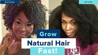 6 Tips to GROW Natural Hair LONG, THICK & HEALTHY After BREAKAGE | Moisturizers & Conditioners