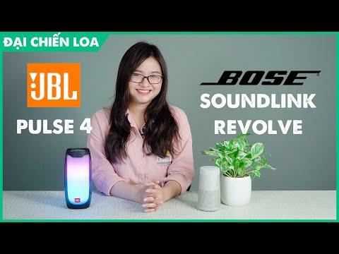 [Đại chiến loa] Bose Soundlink Revole vs JBL Pulse 4| Loa nào hơn