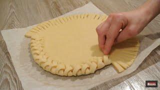 Как сделать плетенку на пироге