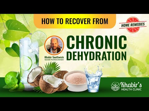 Video Symptoms and Signs of Chronic Dehydration and How to Naturally Recover