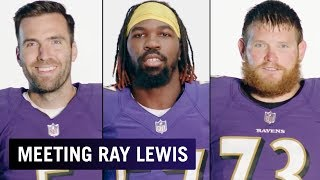 Ravens Players on Meeting Ray Lewis for the First Time | Baltimore Ravens