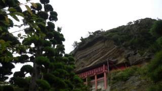 崖の観音館山市千葉観光一日目大福寺2daifukujitateyamachibajapan