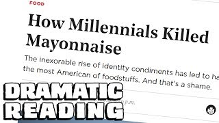 How Mayo-phobia is KILLING AMERICA || laughing myself silly over an article