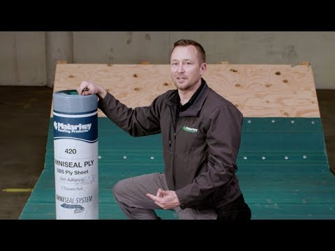Cold Weather Application of Malarkey's OmniSeal™ Self-Adhered Roof System