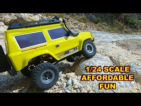 The BEST 1/24 Scale RC Crawler Rock Crawling Session