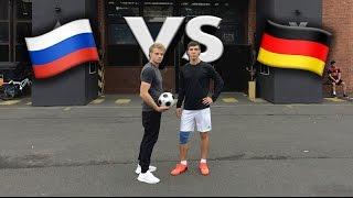 БИТВА Двух Столиц. Уличный Футбол В Берлине.
