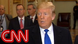 Trump: I don't think the Democrats are talking about impeachment