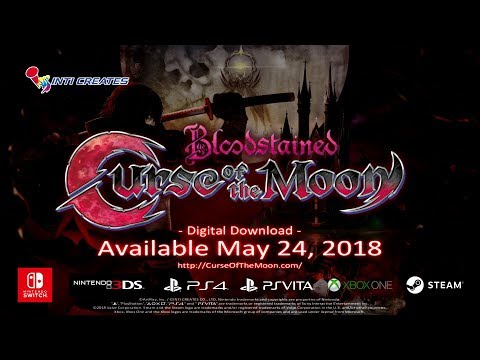 Bloodstained: Curse of the Moon Official Trailer thumbnail