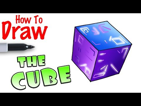 The Cube In Fortnite How To Draw The Cube Fortnite Netlab