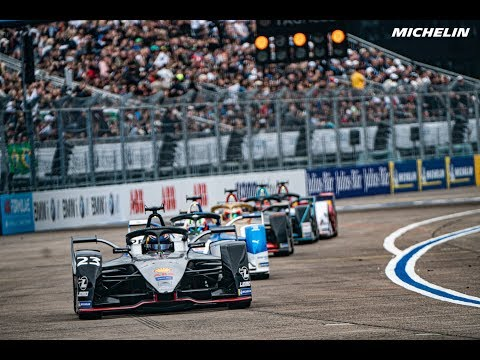 Highlights Berlin E-Prix - 2018/2019 ABB FIA Formula E - Michelin Motorsport
