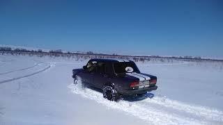 Офроуд Ваз 2107 полный привод по снегу