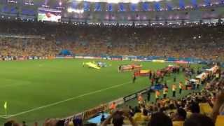 2014 World Cup Colombia National Anthem vs. Uruguay