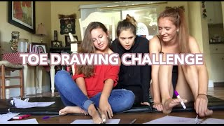 Toe Drawing Challenge!