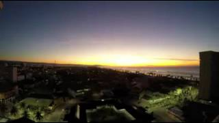 Nascer do sol em Peruíbe