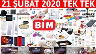 TEK TEK SUNUM | BİM 21 ŞUBAT 2020 | BİM İNDİRİMLERİ | BİM KAMPANYA  | OKUNAKLI | {Bim Aktüel}