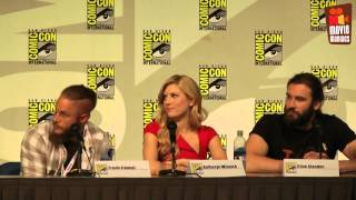 Cast and Crew Interview Comic Con 2013