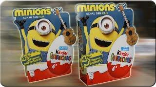 Die Minions 2 x 4er Pack Kinder Überraschung Unboxing