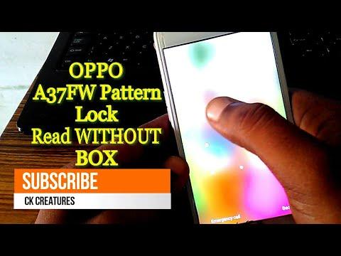 Oppo A37fw pattern lock remove frp - GSM SALEEM BRAVE